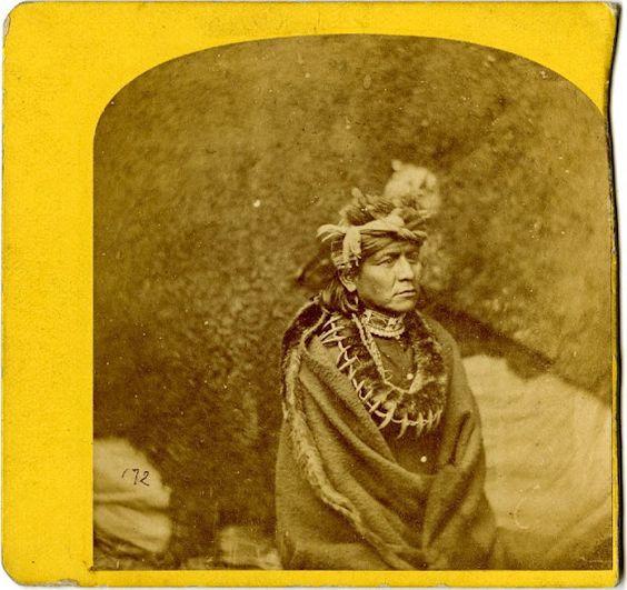 Omaha man - circa 1870