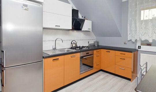 Kuchnia Na Poddaszu Kitchen Kitchen Cabinets Home