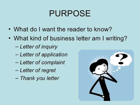 letters power point presentation business made simple letter for - inquiry letter