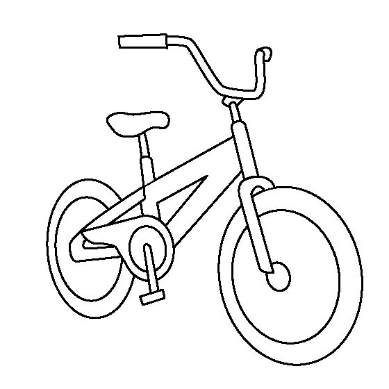 Bicycle coloring sheets projecten om te proberen for Coloring pages bikes