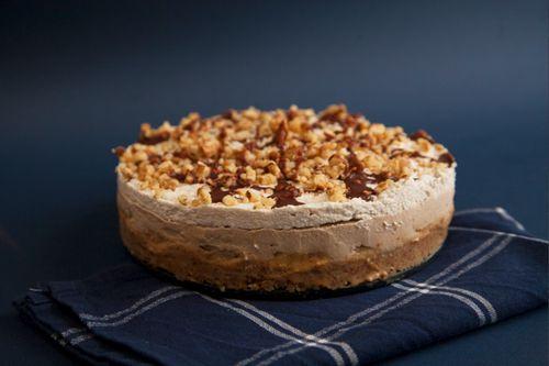 RAW BANOFFEE CAKE