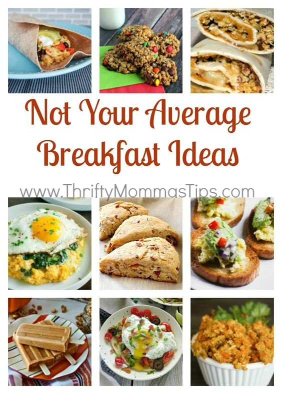 Bored with breakfast? We've all been there. Here are a few unique ways to make the first meal of the day exciting again.
