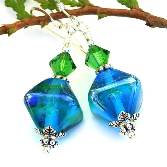 ENCHANTED AQUA Earrings