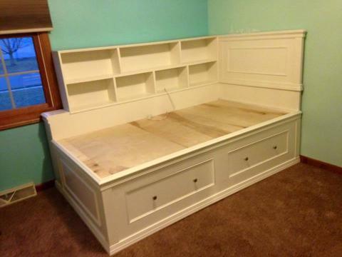 Twin Captain Bed Remodel Bedroom Small Bedroom Remodel Diy