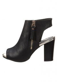 SUITEBLANCO - High Heel Sandaletten - black