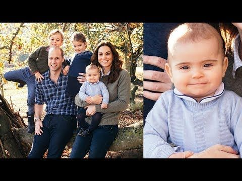 Adorable Prince Louis Steals Show In Royal Family Christmas Card