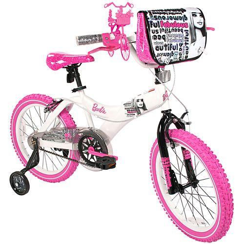 Dynacraft 18 inch BMX Bike - Girls - Barbie - Fabulous  - Dynacraft -  5 - 7 Years - FAO Schwarz®
