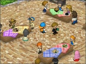 Harvest Moon: Tale of two Towns, cooking festival.