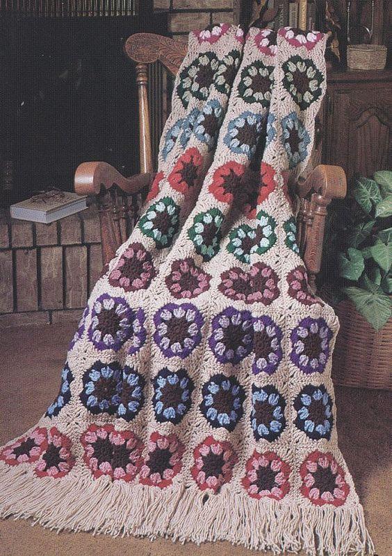 7 Best Afghans Crochet Patterns | Crochet stuff | Pinterest ...