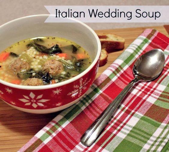 Easy italian wedding soup wedding soup italian weddings for Renee s kitchen