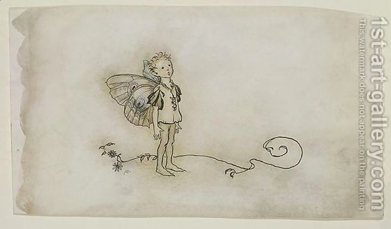 The Fairies Thing - Arthur Rackham