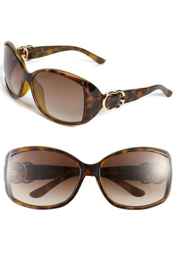 Gucci 'Special Fit' Sunglasses available at #Nordstrom