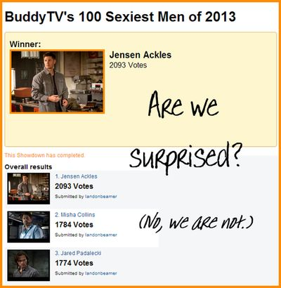 Not surprised at all... #Supernatural