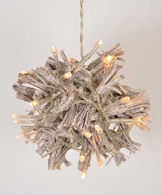 Look what I found on #zulily! Light-Up Twig Ball Décor by Fantastic Craft #zulilyfinds
