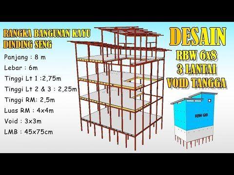 Desain Rumah Walet 6x8 Dinding Seng Void Tangga Youtube Di 2020 Rumah Burung Burung Walet Desain Rumah