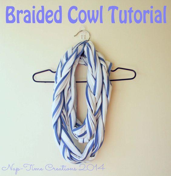 Braided Cowl Tutorial | DIY fashion
