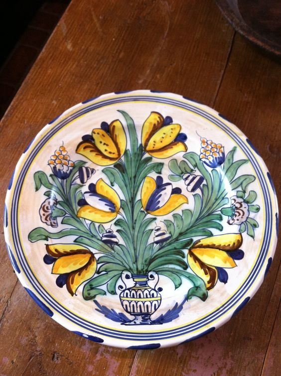 Reproduction Delftware from Jamestown