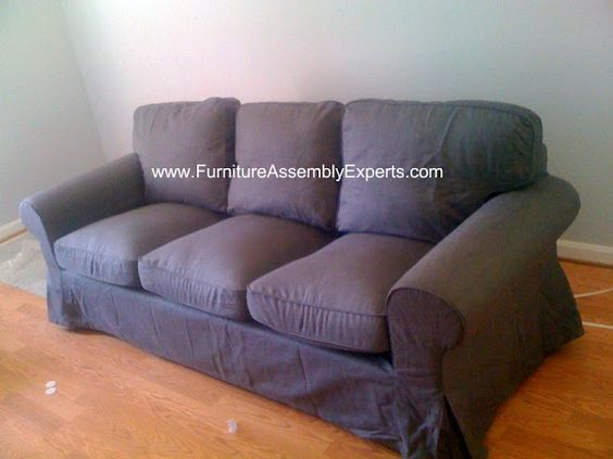 IKEA Kivik sofa assembled at Gables 215 C Street apartments ...
