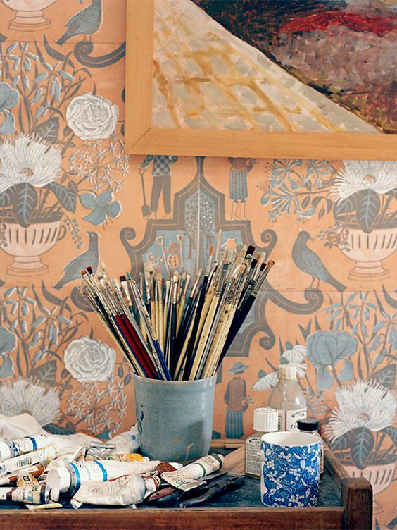 Marthe Armitage Wallpaper and Fabrics - Katie Considers