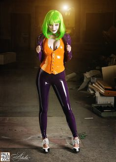 Cool female joker