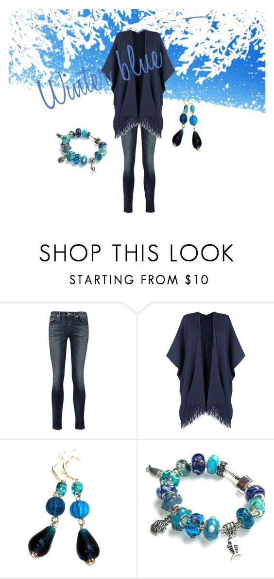 Winter blue by mariliart on Polyvore featuring R13, Gipsy, WearAll, etsy, inspiration and polyvoreset