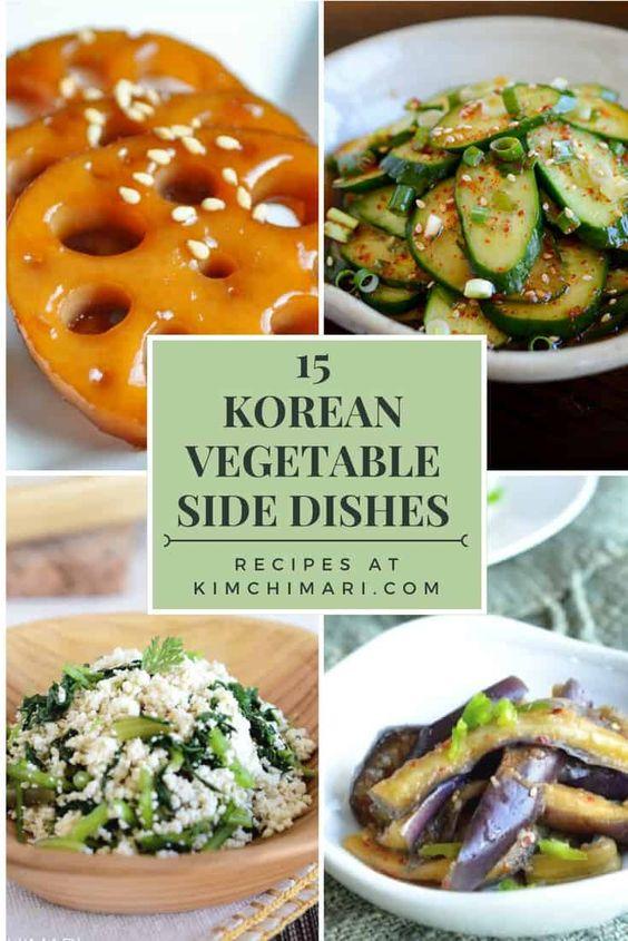15 Korean Vegetable Side Dishes (Banchan) | Kimchimari
