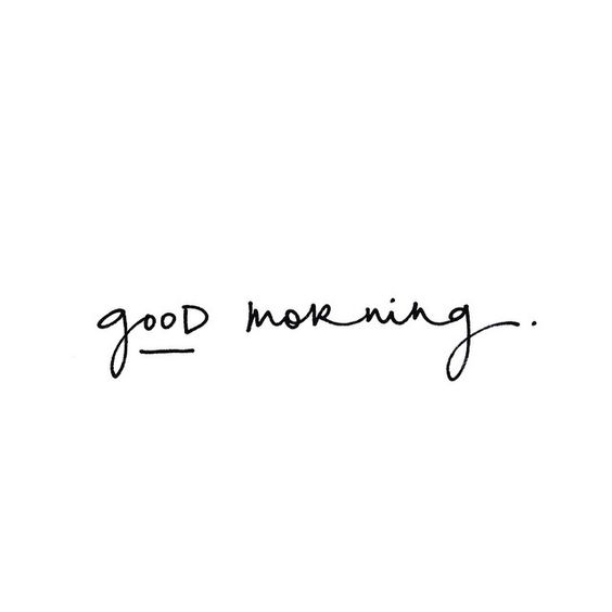Good morning to everyone on Pinterest this beautiful NOT SNOWING morning. Just wanna spread the love, happiness and good vibrations with you all.✨