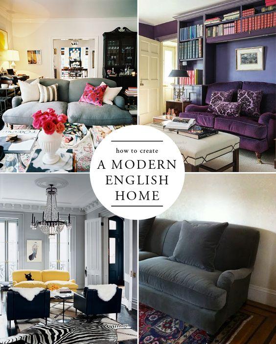 How To Create A Modern English Home