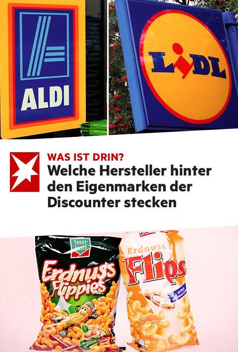 Diese Hersteller Stecken Hinter Den Eigenmarken Von Aldi Lidl Und Co Aldi Marken Lidl