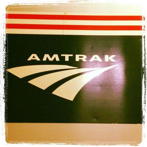 My first Amtrak train ride