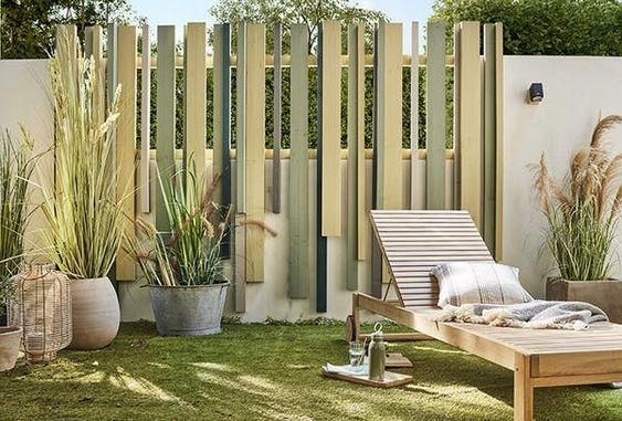 Nouvelle Allure Pour La Cloture Leroy Merlin En 2020 Decoration Jardin Maison Idee Amenagement Jardin Amenagement Jardin Cloture