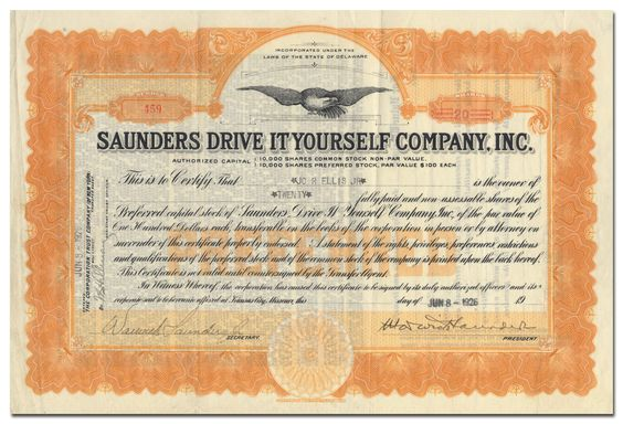Saunders Drive It Yourself Company Inc With Images Vintage World Maps Driving Vignettes