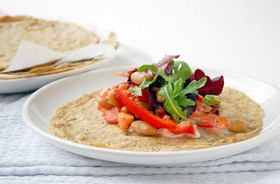 Recipe: Gluten free tortilla wraps Serves 2 (approx 6 wraps ...