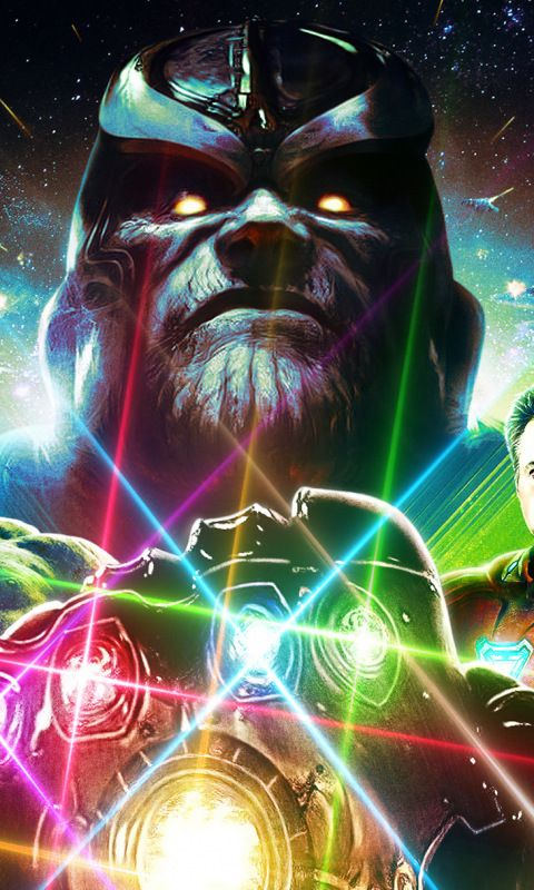 Avengers Infinity War Artwork 2018 Movie Hulk Iron Man Thanos 480x800 Wallpaper Avengers War Artwork Hero Wallpaper