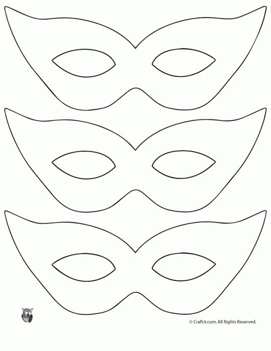 batgirl mask template - Google Search arts (^ o ^) craft - paper face mask template