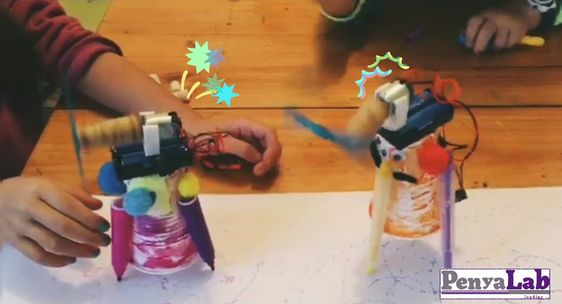Els nostres robots pintors