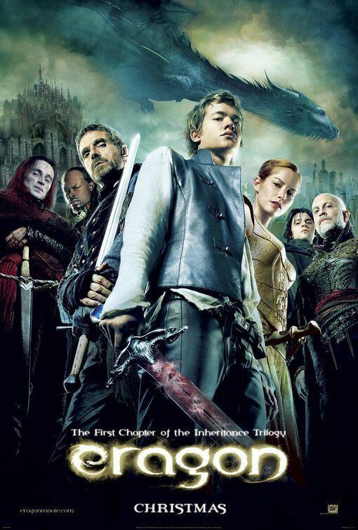 Eragon 2006 Ed Speleers Jeremy Irons John Malkovich Djimon Hounsou