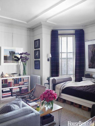 Studio apartments, Small spaces and Storage baskets on Pinterest