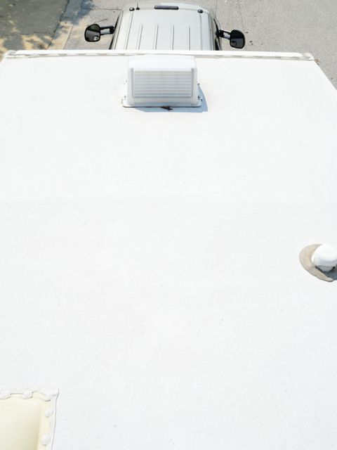 How Long After I Apply The Product Can I Drive My Rv Emergency Roof Repair Rv Roof Repair Roof Coating