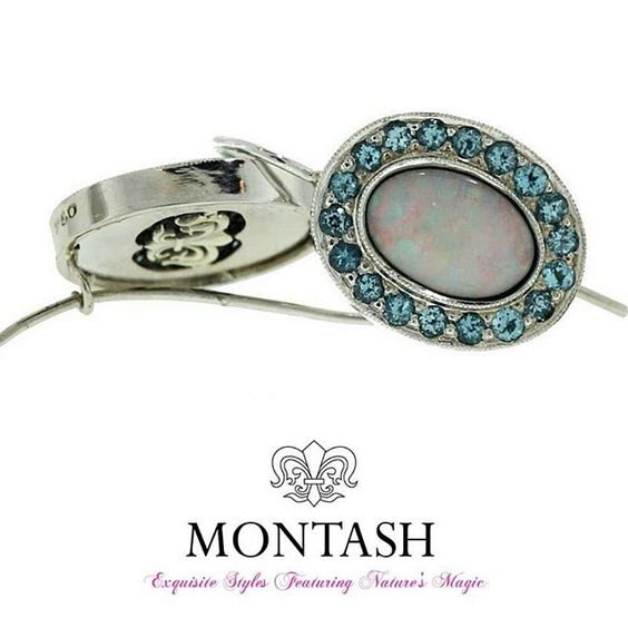 This week we look at the birthstones for #October! October is a month with two #birthstone choices – #Opal and #Tourmaline! #montashjewellerydesign