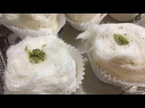 غزل البنات شعر البنات مع ملاحظات فشل الوصفة جزء ١ تابعوا جزء ٢ Youtube Eid Food Arabic Dessert Desserts