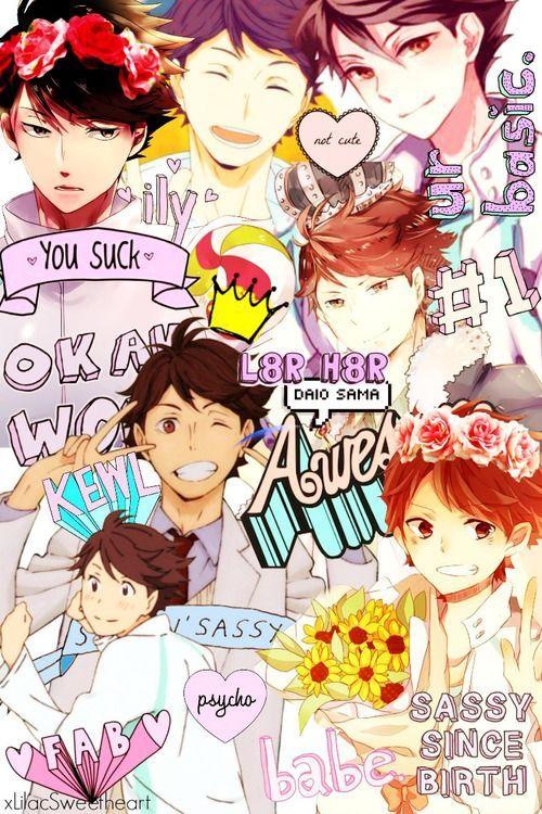 Get Awesome Anime Wallpaper Iphone Haikyuu Imagen De Tumblr