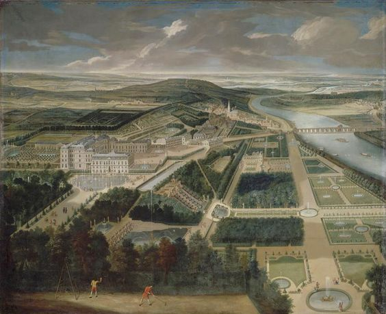 Château de Saint-Cloud and Gardens, c. 1720.