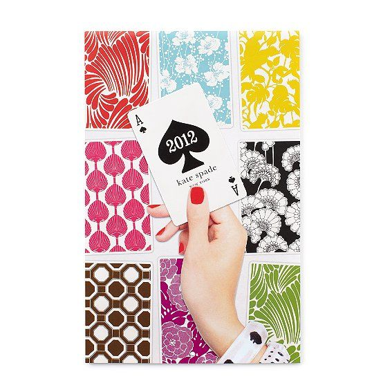 Kate Spade 2012 Wall Calendar $20 also available in desk and pocket varieties.