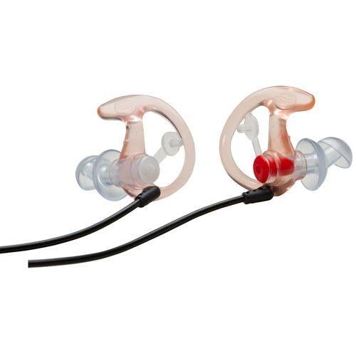 EP3 Sonic Defender Earplugs, Clear - Medium, 1 Pair