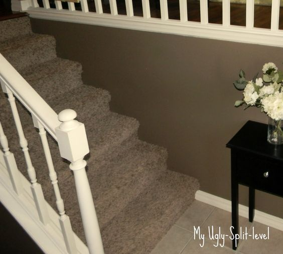 Foyer Area Utah : My ugly split level entryway pinterest