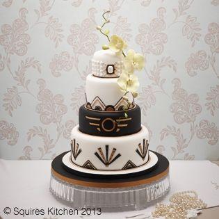 Cake Art By Liz : Wedding cake gold, Crafts and Great gatsby wedding on ...