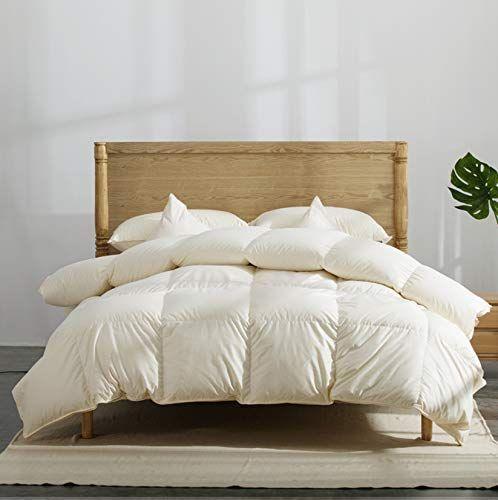 Warm Feather Handmade Luxurious Winter Goose Down Comforter Duvet