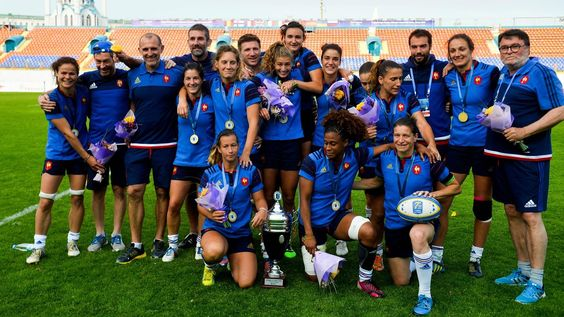 RUGBY A 7 - Les 12 françaises retenues pour les Jeux Olympiques - Rugbyrama - 13/07/2016