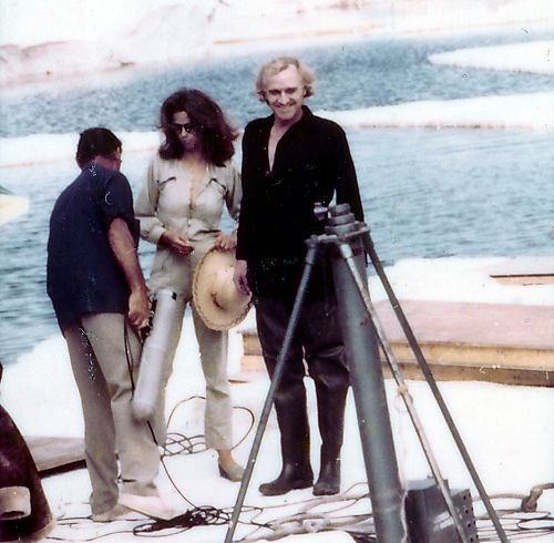 Richard Harris. Orca. Behind the Scenes.